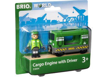 BRIO - Cargo Engine with Driver (33894)