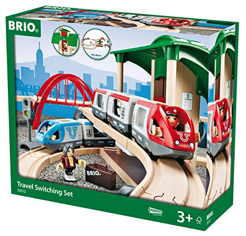 BRIO - Travel Switching Set (33512) - Toot Toot Toys