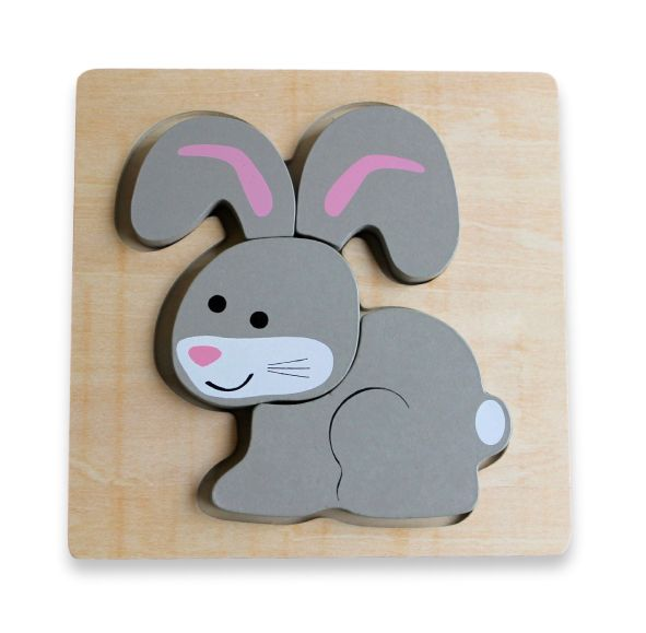 Discoveroo - Chunky Puzzle - Rabbit