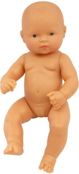 Miniland - Baby Doll - Caucasian - Girl (32cm Undressed)