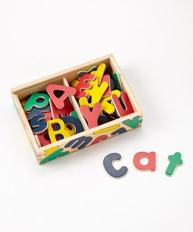 Melissa & Doug - Magnetic Wooden Alphabet