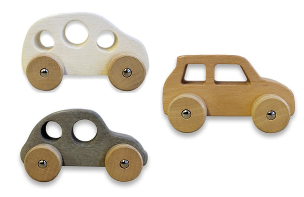Discoveroo - Chunky Wooden Cars