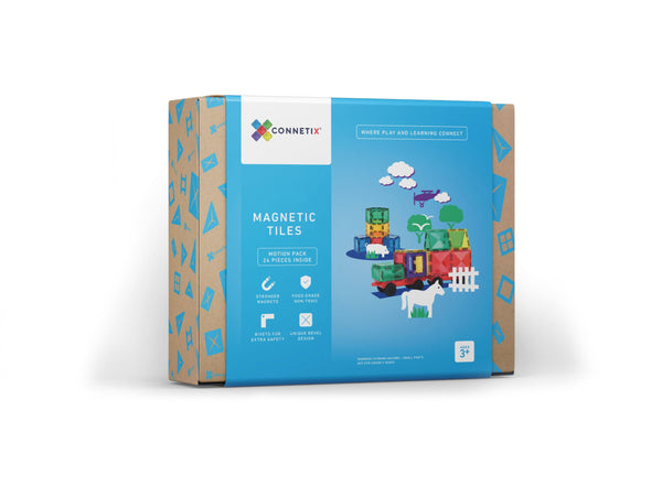Connetix 24 Piece Motion Pack