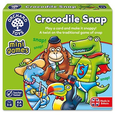 Orchard Toys - Mini Games - Crocodile Snap