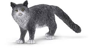 Schleich - Maine Coon Cat (13893) - Toot Toot Toys