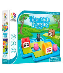 Smart Games - Three Little Piggies Deluxe - Toot Toot Toys