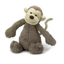 Jellycat - Bashful Monkey (Medium) - Toot Toot Toys