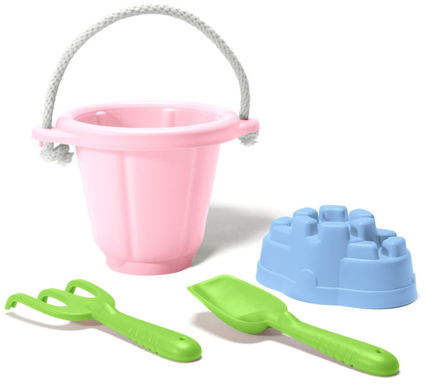 Green Toys - Sand Play Set (Pink) - Toot Toot Toys