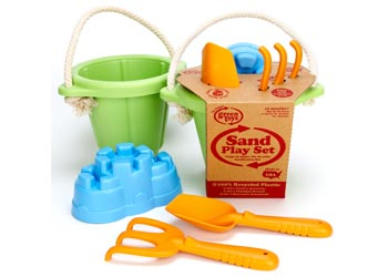 Green Toys - Sand Play Set 4pc - Toot Toot Toys