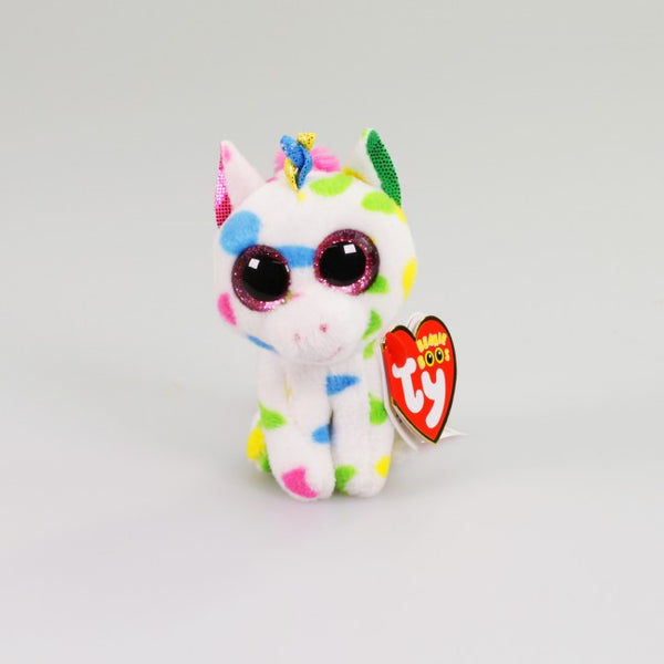 Harmonie the Speckled Unicorn - Beanie Boos (Clip On) - Toot Toot Toys