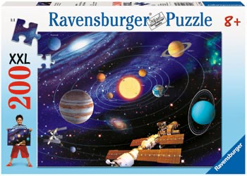 Ravensburger - The Solar System Puzzle 200pc XXL
