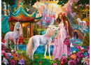 Ravensburger - Glitter Princess with Unicorn Puzzle 100pc XXL