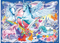 Ravensburger - Amazing Unicorns Glitter Puzzle 100pc XXL