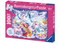 Ravensburger - Glitter Amazing Unicorns Glitter Puzzle 100pc XXL