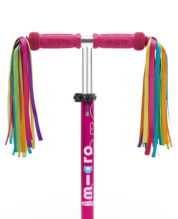 Micro Handle Bar Ribbons- Neon