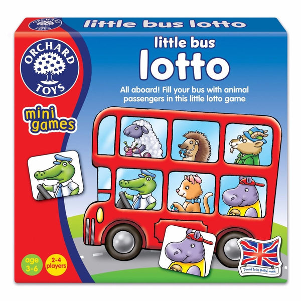 Orchard Toys – Mini Games - Little Bus Lotto