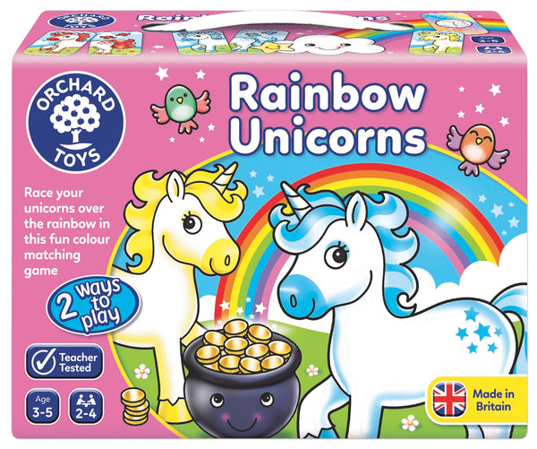 Orchard Toys - Rainbow Unicorns