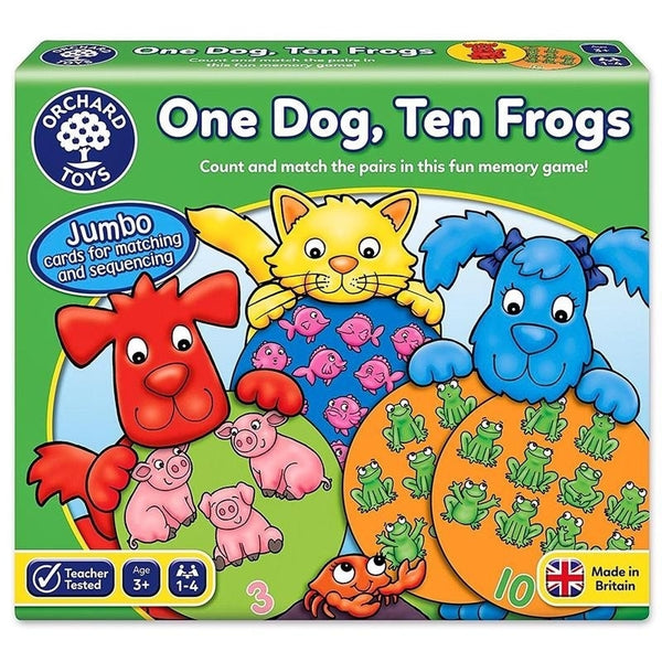 Orchard Toys - One Dog, Ten Frogs