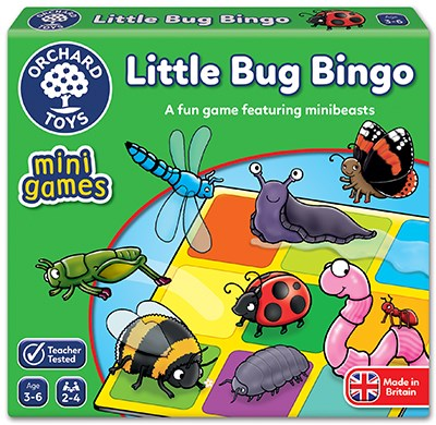 Orchard Toys – Mini Games - Little Bug Bingo