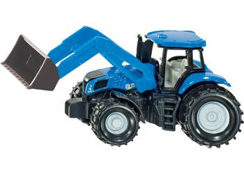 Siku - New Holland with Frontloader (1355) - Toot Toot Toys