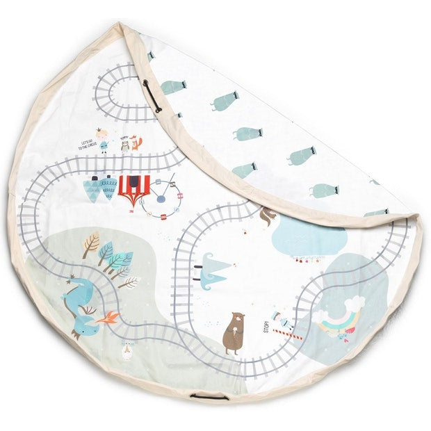 Play & Go - Toy Storage Bag - Fairytale Train Map - Toot Toot Toys