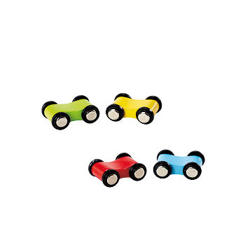 EverEarth Bamboo Ramp Racer Replacement Cars (x4)