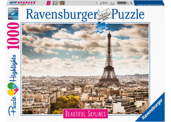 Ravensburger - Beautiful Skylines - Paris - 1000 piece puzzle