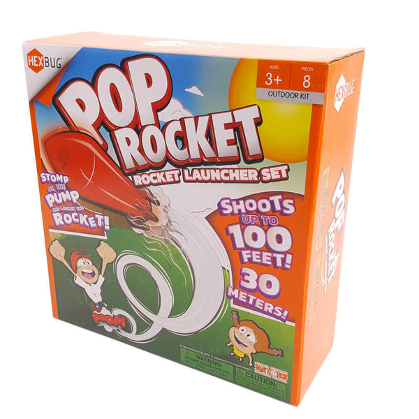 Hexbug - Outdoors Pop Rocket Launcher Set