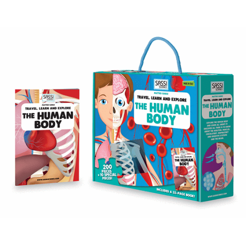Sassi Junior - Travel, Learn and Explore - The Human Body