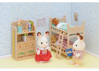 Sylvanian Families - Children's Bedroom Furniture Set - Toot Toot Toys