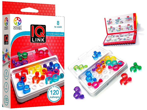Smart Games - IQ LINK - Toot Toot Toys