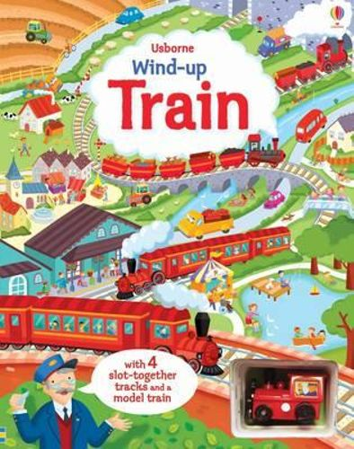 Wind-up Train Book (4 Slot Track)