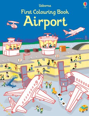 First Colouring Book - Airport