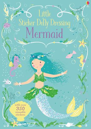 Little Sticker Dolly Dressing - Mermaid
