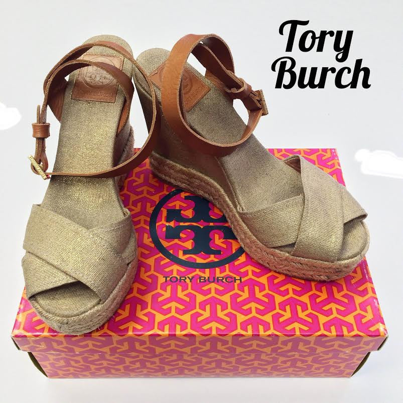9db6682545df Tory Burch Ankle Strap Wedges (9)
