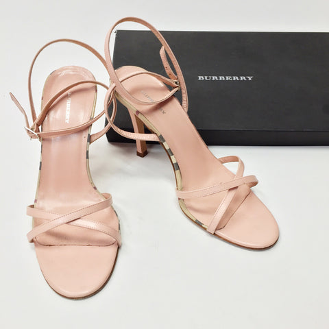Burberry Light Pink Jessica Heels (8-8.5)