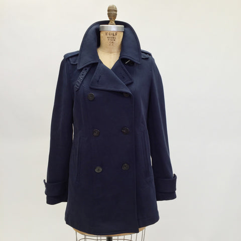 Burberry Brit Navy Blue Coat (8)