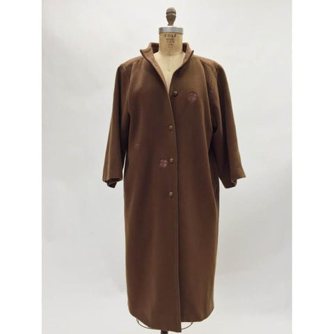 Chanel Vintage Wool Coat (4)