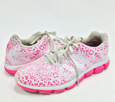 Adidas Climachill Pink Leopard Sneakers (7)