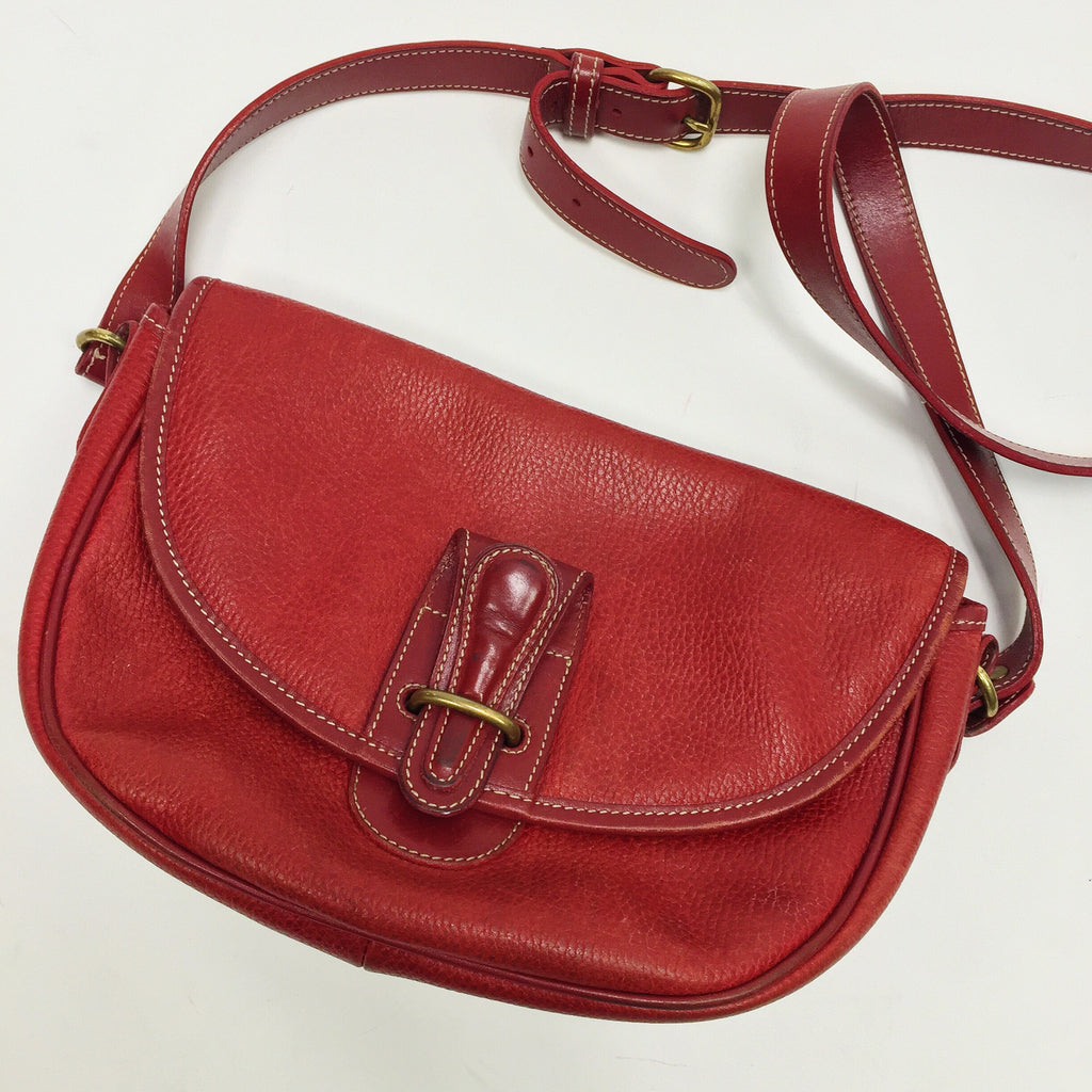 Coach Red Vintage Crossbody