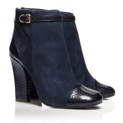 "Tory Burch ""Gracie"" Suede Booties (7)"