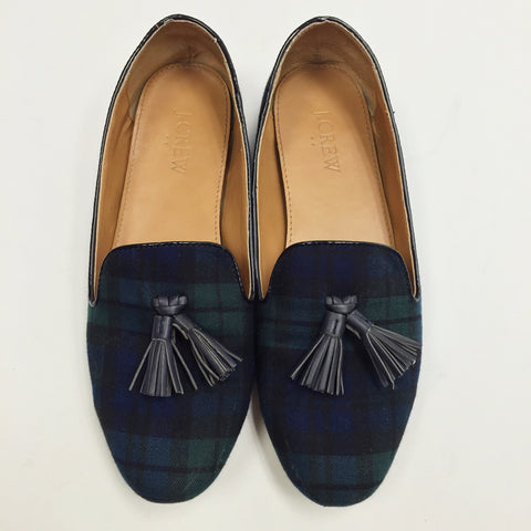 J.Crew Tartan Plaid Loafers (7)