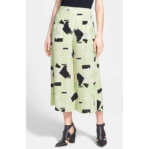 ASTR Graphic Print Culottes (XS)
