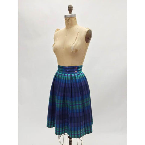 Christian Dior Silk Pleated Skirt (4)
