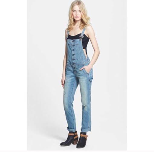 Free People Overalls (Size W24)