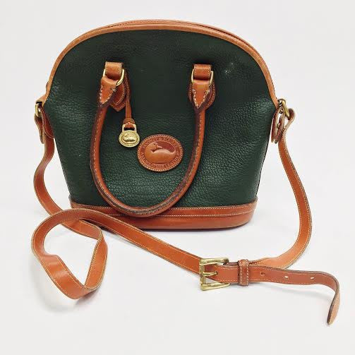 Dooney & Bourke Green Vintage Shoulder Bag