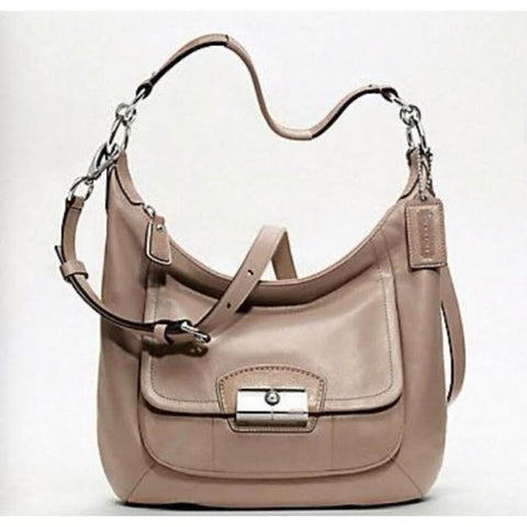 Coach Beige Nashville Cross Body Bag