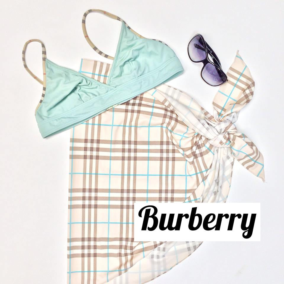Burberry Swimsuit Top