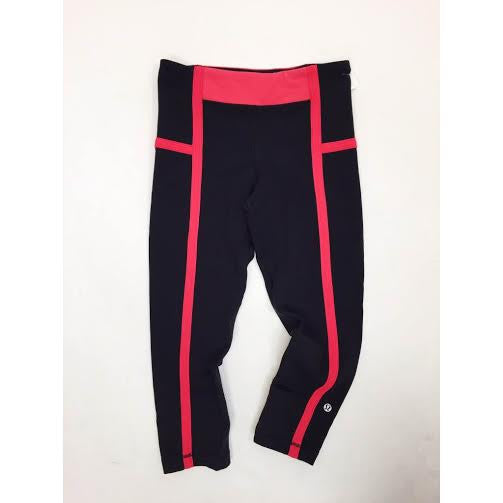 001ae662a59d5 Lululemon Pink Striped Crops (2/4) – Bethany's Style Aisle, LLC