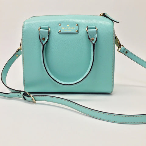 Kate Spade Wellesley Alessa Robin's Egg Blue Bag